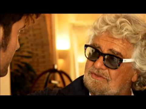Mauro Giliberti intervista Beppe Grillo 2014