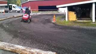 Lawn mower racing Finland - 2013 finals - part 1