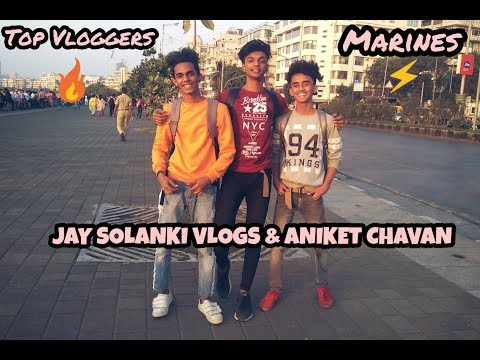 A Day With Top YOUTUBERS   Ft. ANIKET CHAVAN & JAY SOLANKI VLOGS  