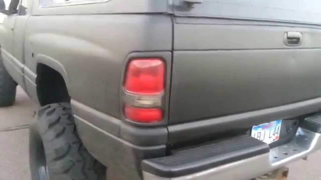 dodge ram bedliner paint job - youtube