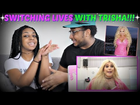 "Shane Dawson ""SWITCHING LIVES WITH TRISHA PAYTAS"" REACTION!!!"