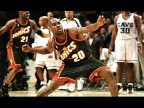 NBA Best Duo: Seattle Sonics Gary Payton and Shawn Kemp Highlights