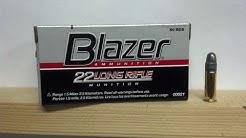 BLAZER .22LR AMMO TEST/REVIEW