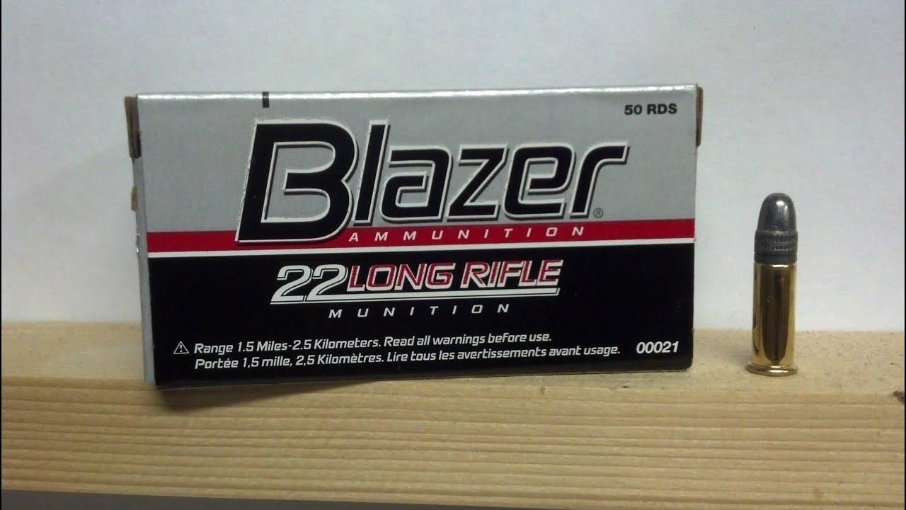 blazer 22lr ammo test review youtube