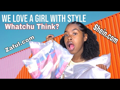 Cute Clothing Haul Plus Try On Haul |Ft Ali Pearl Hair|