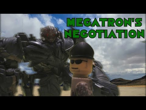 Transformers: The Last Knight Stop Motion - Megatron's Negotiation (Megatron's Crew)