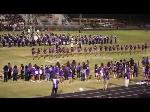 Mattie T Blount High School Alumni Band Homecoming Field Show