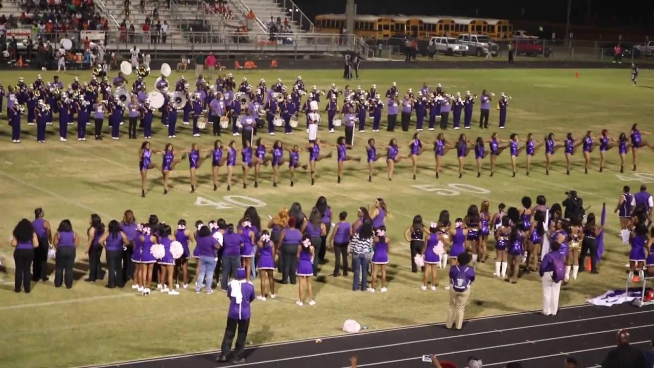Mattie T Blount High School Alumni Band Homecoming Field Show  YouTube