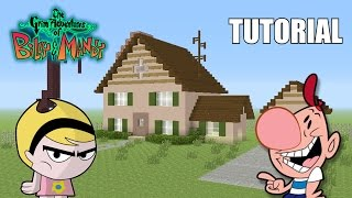"Minecraft Tutorial: How To Make ""Billy's House""!! ""The Grim Adventures Of Billy and Mandy"""