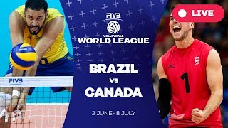 Brazil v Canada - Group 1: 2017 FIVB Volleyball World League