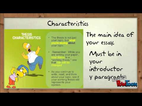 Simpsons Thesis Statement  Youtube