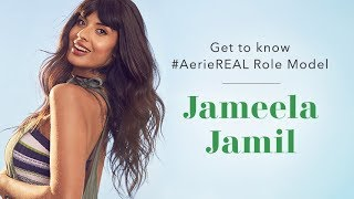 Get to know #AerieREAL Role Model Jameela Jamil
