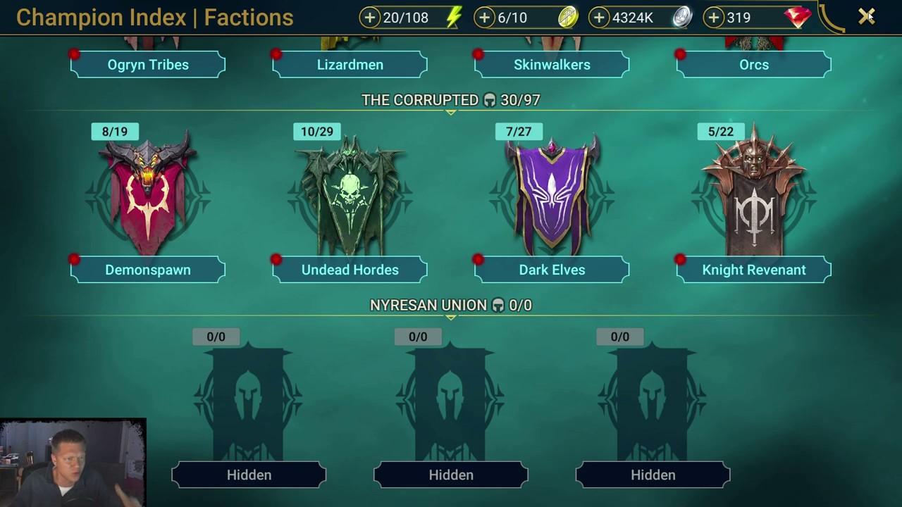 Raid: Shadow Legends - Top 10 Rare Champions v1 0