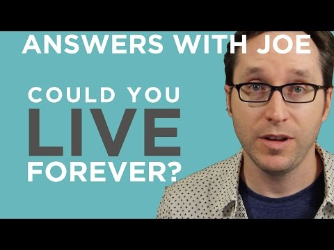 The Very Real Possibility That You Could Live Forever