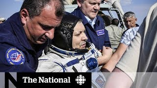 How David Saint-Jacques is readjusting to life on Earth after ISS mission