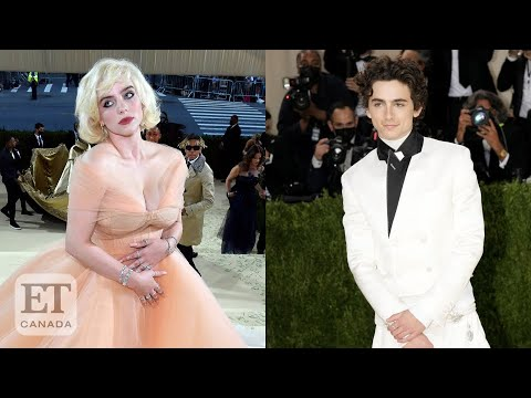 Co-Chairs Billie Eilish and Timothée Chalamet Arrive At The Met Gala