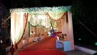Marriage decoration close gallery