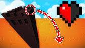 ESSAYER DE SURVIVRE À CE SAUT AVEC UN DEMI COEUR !PARCOURS Minecraft