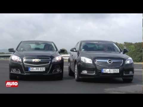 Vergleichstest: Chevrolet Malibu 2012 trifft Opel Insignia [HD]