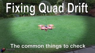 RC Quick Tip: Fixing Quadcopter Drift