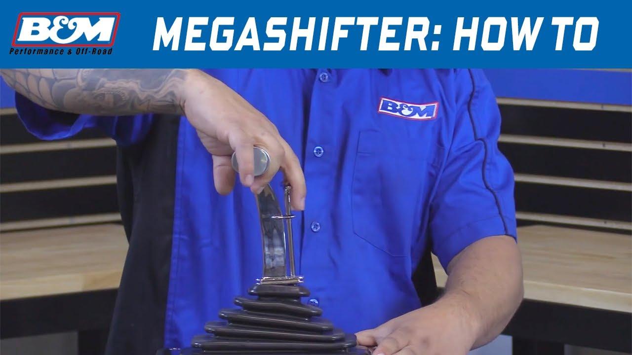 How To Shift A Bm Megashifter Youtube