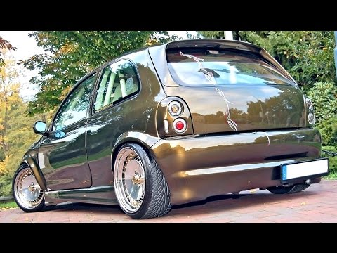 opel corsa b tuning modified youtube. Black Bedroom Furniture Sets. Home Design Ideas