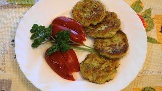 Вкусные ДРАНИКИ из кабачков.ТОНКОСТИ приготовления.ПРОСТО! (92 02.09.16)