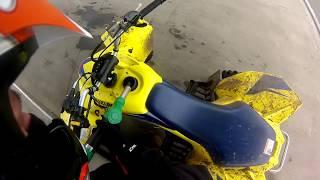 Yamaha Raptor 700 + Szybkie Tankowanie Paliwa | Gas station | ATV Quad Suzuki LTZ 400