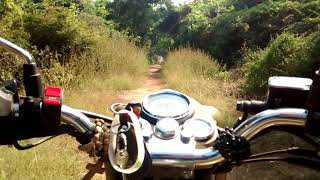 Royal Enfield- Desert storm- Off Road- Madras Christian College