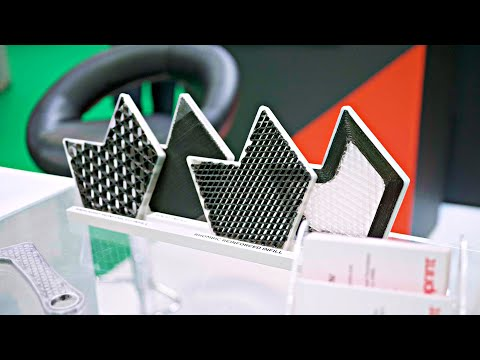 Carbon Fiber 3D Prints stronger than STEEL - from Anisoprint!