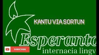 ESPERANTO MUSIC * KANTU VIA SORTUN