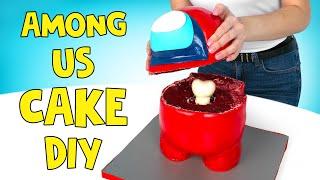 AMONG US CAKE DIY
