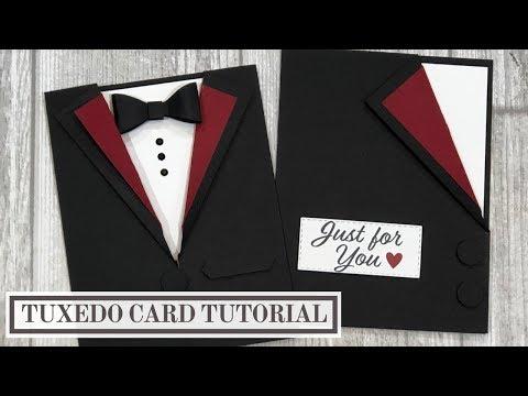 Tuxedo Card Tutorial