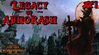 Legacy of Abhorash #1: Blood Dragon Vampire Challenge Campaign | Total War: Warhammer 2