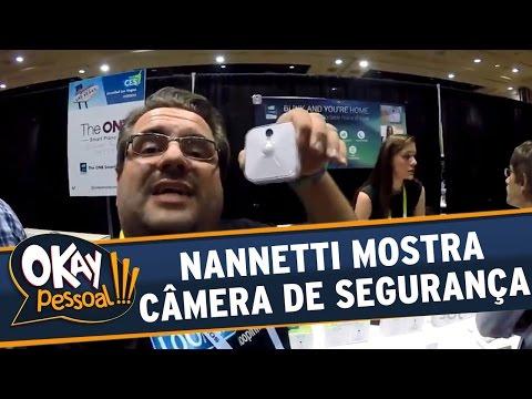 Okay Pessoal!!! (25/04/16) - Junior Nannetti mostra a inovadora câmera de monitoramento