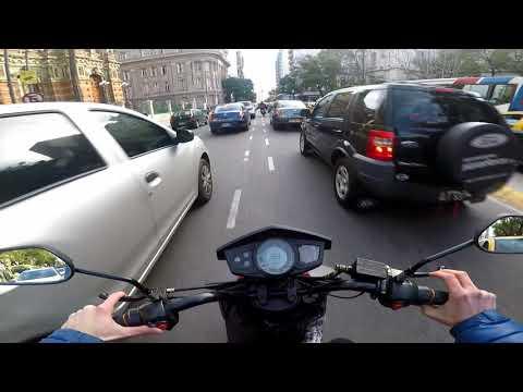 Motovlog argentina gopro hero 5 black con moto electrica lucky lion aplicacion quik