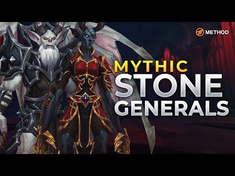 Method VS Stone Legion Generals - Mythic Castle Nathria