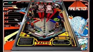 Visual Pinball Taito Fire Action