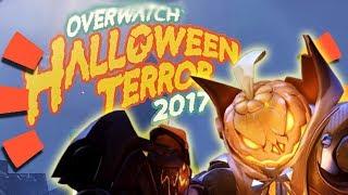Overwatch - HALLOWEEN SKINS LEAKED 2017!!!