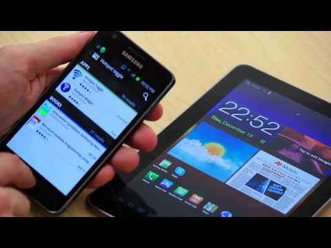 Tethering Samsung Galaxy Tab 7.7 To Your Android Phone