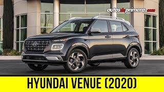Hyundai Venue 2020, un nuevo mini SUV de la marca coreana