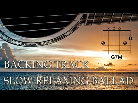 Slow Relaxing Ballad Backing Track (G Major)