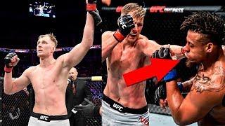 АЛЕКСАНДР ВОЛКОВ ПОБЕДИЛ ГРЕГА ХАРДИ НА ТУРНИРЕ UFC В МОСКВЕ