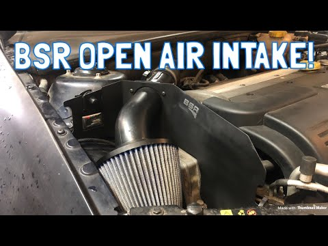 Restoring and Installing a BSR Open Air Intake on My Saab 9-3!