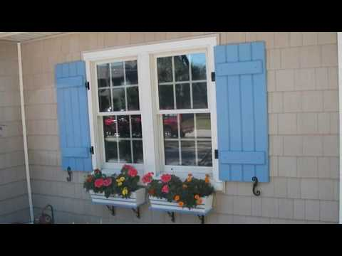 Exterior Window Shutters for Home Ideas