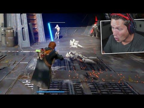 Star Wars Jedi: Fallen Order Gameplay (E3 2019 Reaction)