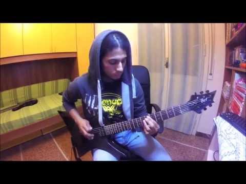 "BELPHEGOR - Bondage Goat Zombie ""Cover Guitar"" [GoPro Hero]"