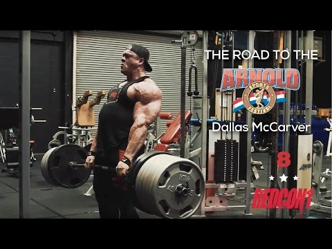 Road To The 2017 Arnold Classic - Dallas McCarver - Ep.8 DEADLIFT 765lbs FOR REPS