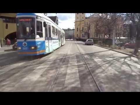 (Teljes) 2-es villamos vonal Debrecen CAF Urbos-3