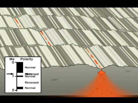 Sea Floor Spreading & Magnetic Polarity Stripes - YouTube